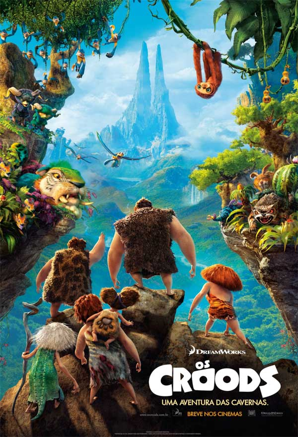 Os Croods (Dublado) HDRip RMVB