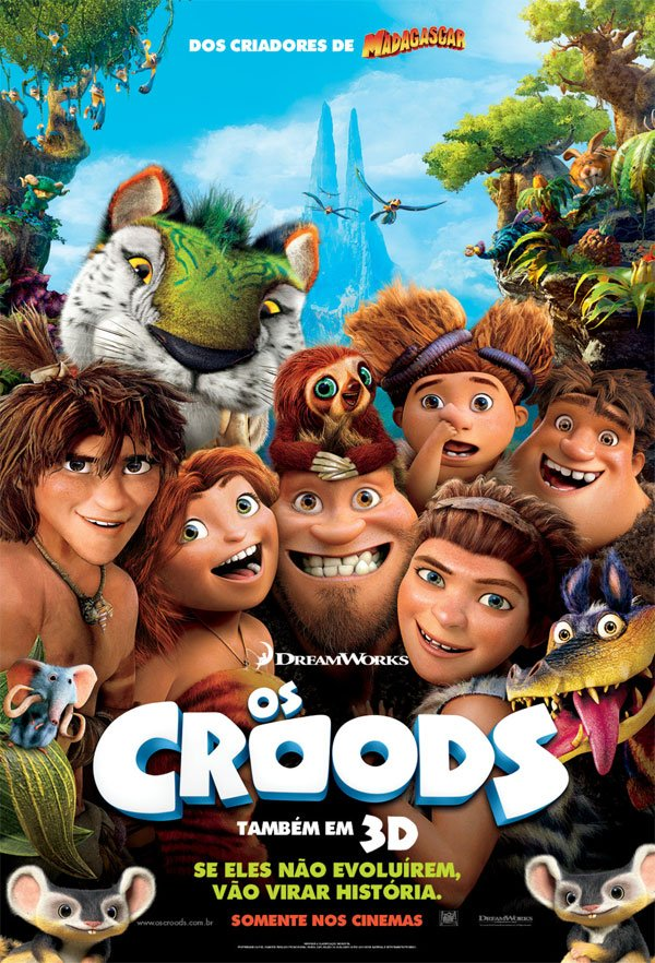 Os Croods (Dual Audio) DVDRip XviD