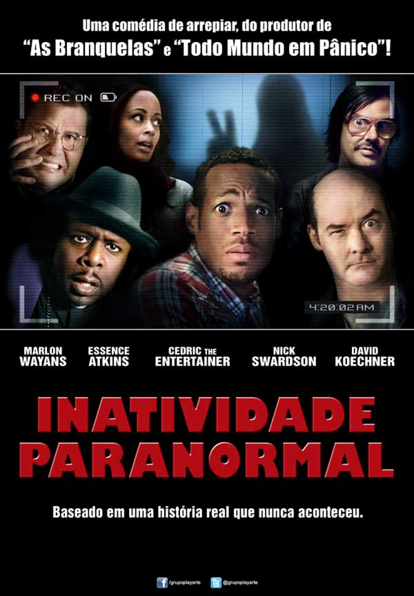 Inatividade Paranormal (Dual Audio) BDRip XviD
