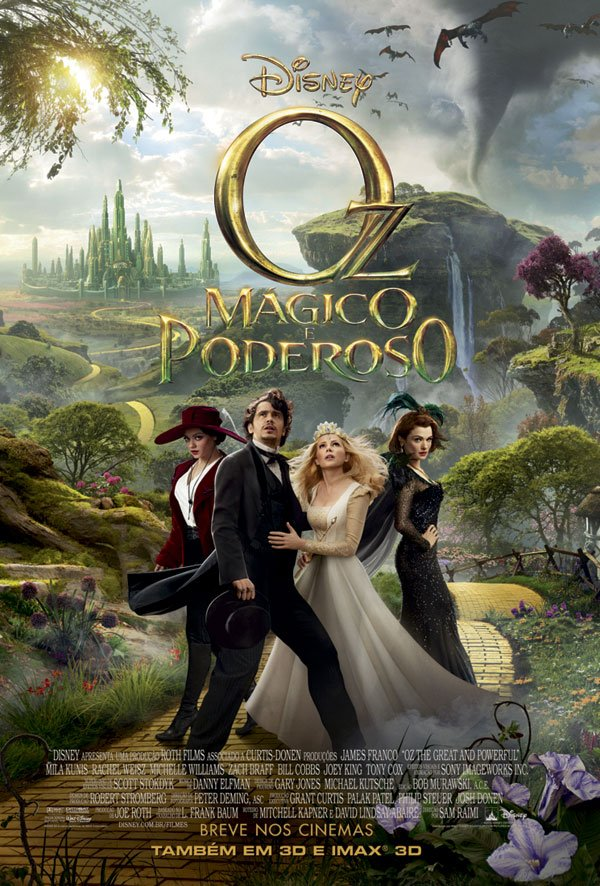 Oz: Mágico e Poderoso (Dual Audio) BDRip XviD