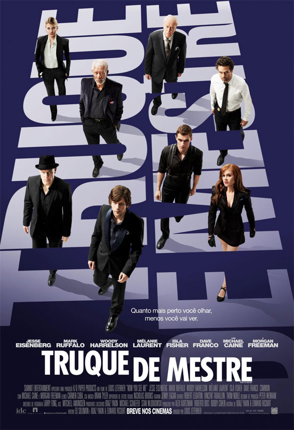 Truque de Mestre (Now You See Me) (2013) BDRip Dual Áudio e BluRay/DVD R   Torrent